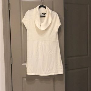 White Style & Co sweater dress